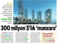 300 Milyon $'lık 'Manzara'