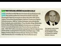 İş GYO'nun Yeni Genel Müdürü Hasan Kimya Bolat