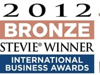 2012 Bronze Stevie Winner