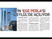 İş'in Ege Perlası 6 Eylülde Açılıyor